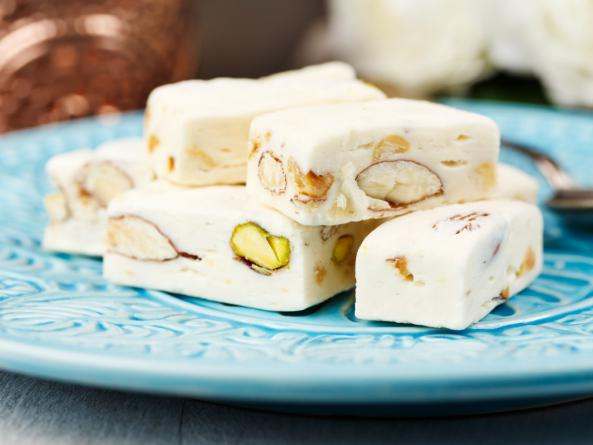 What is the most important ingredients of nougat?